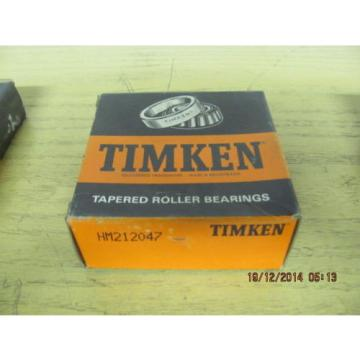 Timken HM212047 Tapered Roller Bearing