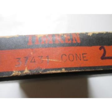 NEW Timken 37431 Cone Tapered Roller Bearing