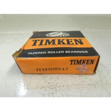 Timken Tapered Roller Bearings HM905843, NIB