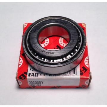 FAG Bearing 30205DY Tapered Roller Bearing (NEW) (DA5)