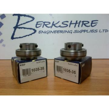 Belt Bearing RHP  488TQO622A-1  1035-35  Bearing Insert