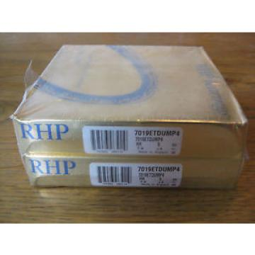 Industrial TRB 1  840TQO1170-1  Pair 7019ETDUMP4 RHP Super Precision Bearings