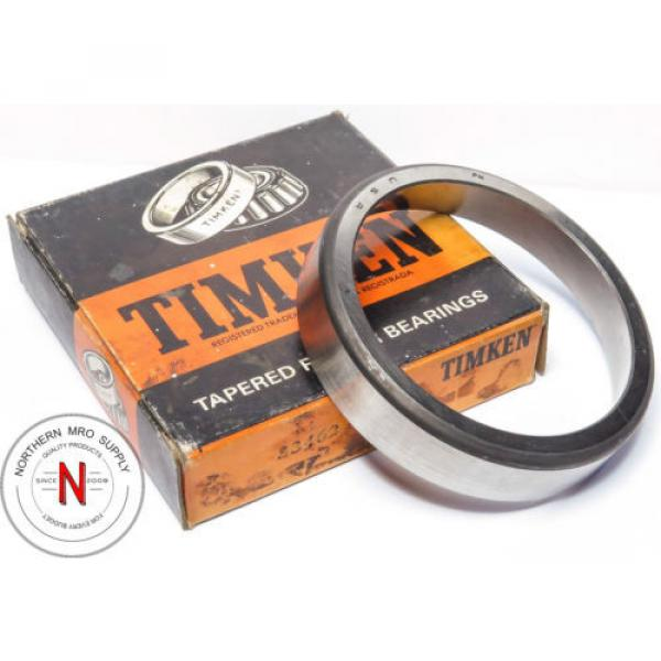 "Timken 33462 Tapered Roller Bearing Outer Race Cup, Steel  W=.9375"" OD=4.625"" #1 image"