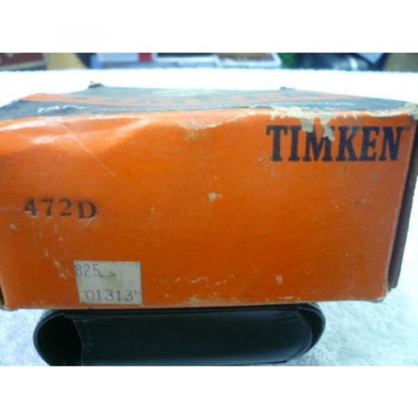 TIMKEN 472D TAPERED ROLLER BEARING CUP .. NEW OLD STOCK.. UNUSED #4 image