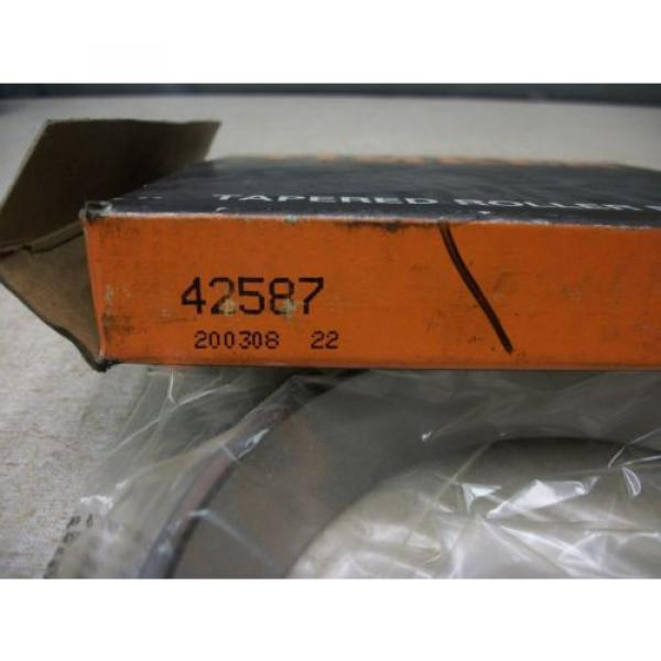 Timken 42587 Tapered Roller Bearing Cup #3 image