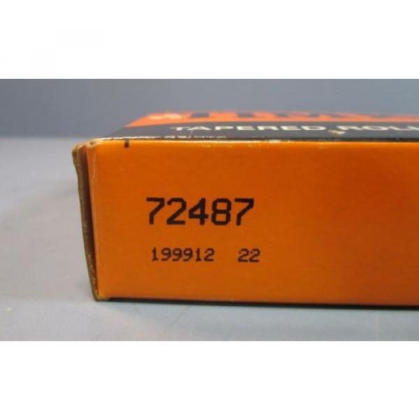 """Timken 72487 Tapered Roller Bearing Cup Only 3-1/2"""" ID, 1"""" Wide NIB #2 image"""