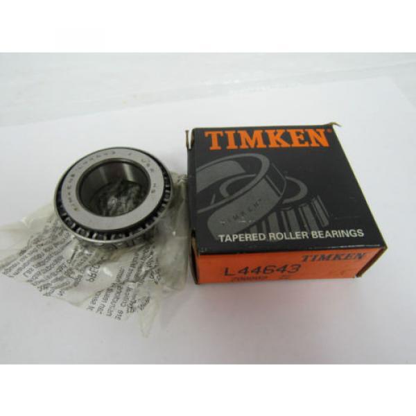 TIMKEN TAPERED ROLLER BEARING L44643 #1 image