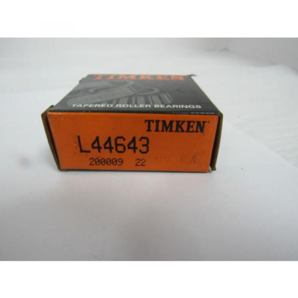 TIMKEN TAPERED ROLLER BEARING L44643 #6 image