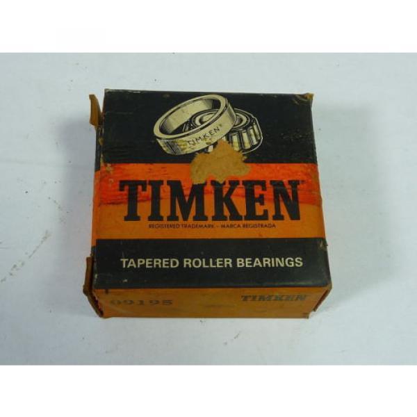 Timken 09195 Tapered Roller Bearing  #1 image