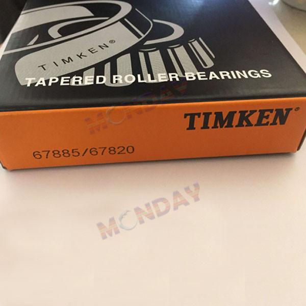 Timken  67885 - 67820, Tapered Roller Bearings - TS (Tapered Single) Imperial #1 image