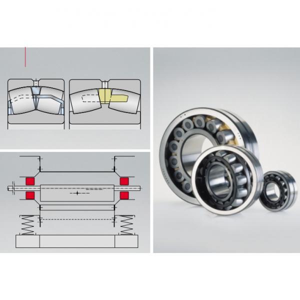 Axial spherical roller bearings  294/850-E1-MB #1 image