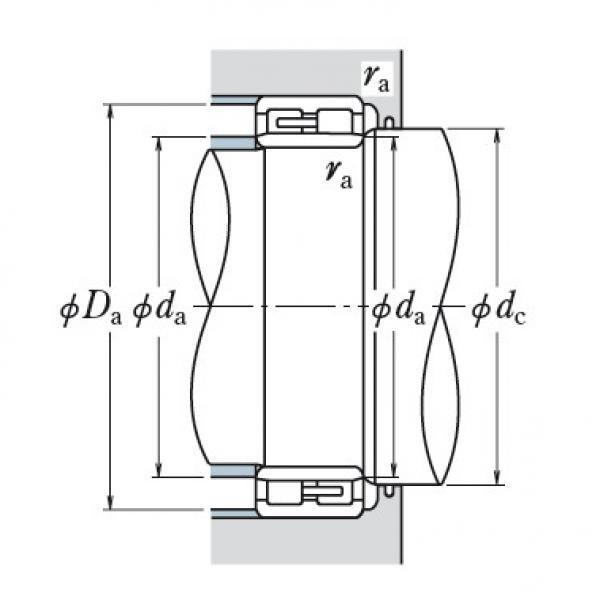 Two Row Cylindrical Bearings  NNU4948 #1 image