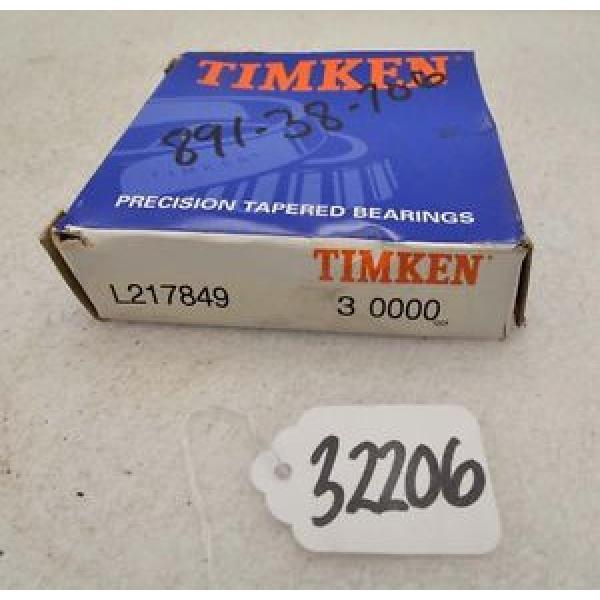 Timken L217849 tapered roller bearing (Inv.32206) #1 image