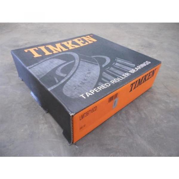 NEW Timken LM739710CD Tapered Roller Bearing Cup #1 image