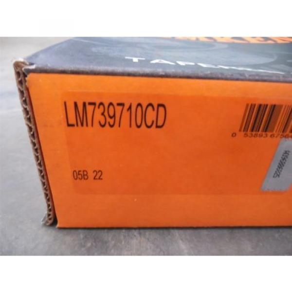NEW Timken LM739710CD Tapered Roller Bearing Cup #2 image