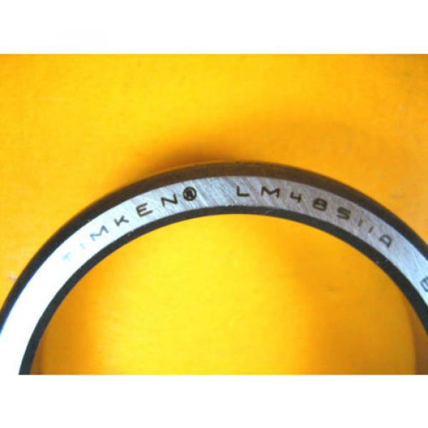 Timken -  LM48511A -  Tapered Roller Bearing Cup #2 image